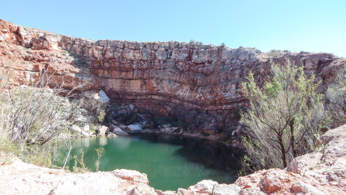 Bottomless Lakes State Park (Mirror Lake) – Roswell, New Mexico