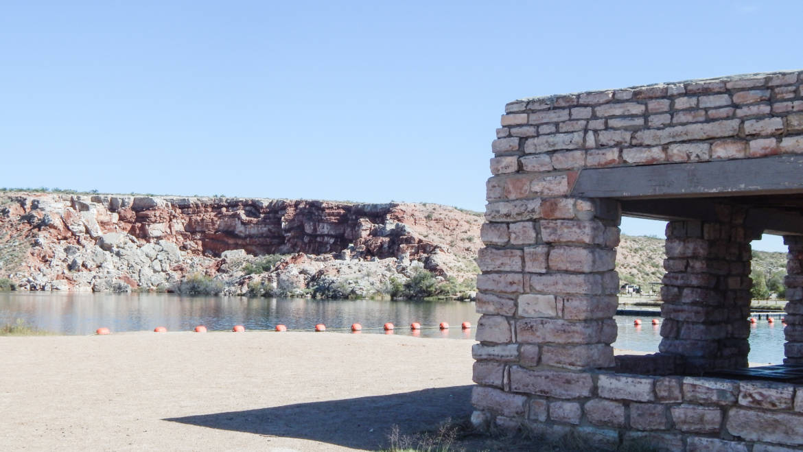 Bottomless Lakes State Park (Lea Lake) – Roswell, New Mexico